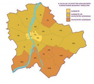 LocalCat Cicaszitter szolgáltatás elérhetősége Budapest területén